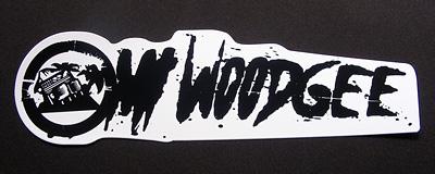 Mt Woodgee ステッカー 黒