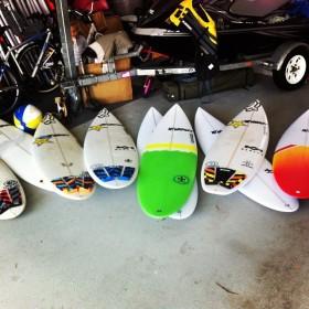 ビード・ダービッジ サーフボード Billabong Pro Tahiti 2014