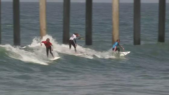 MEN'S RD1 H7 - DAVIDSON, OTTON, TAYLOR, HENRIQUE Nike US Open of Surfing 2011