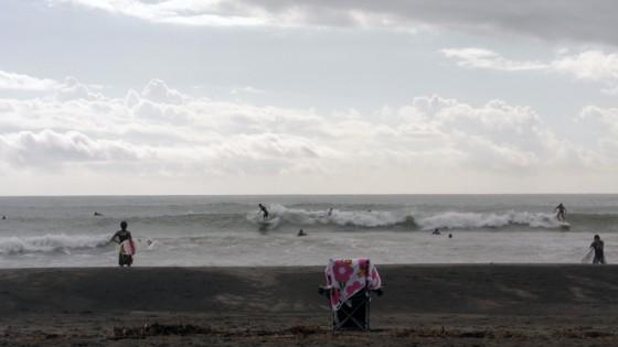 2011/09/18 8:27 静波海岸堤防横