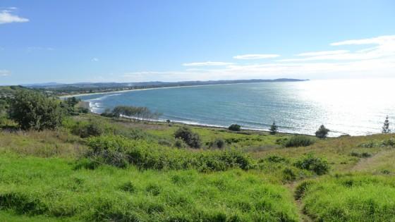 2012/06/22 10:39 Lennox Head 上からの眺め