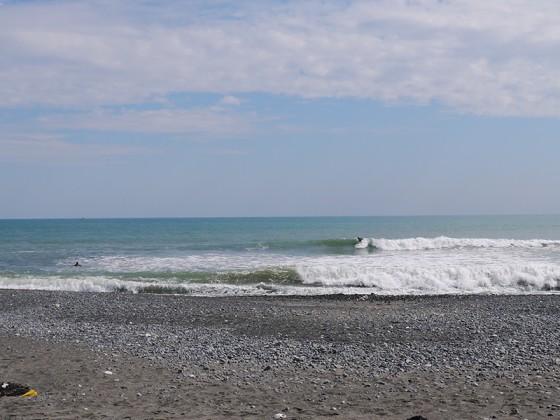 2012/10/11 12:49 静波海岸