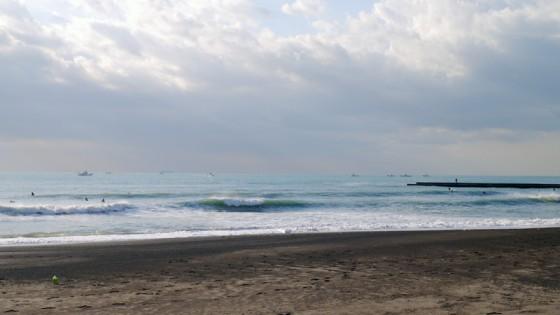 2012/10/20 7:33 静波海岸