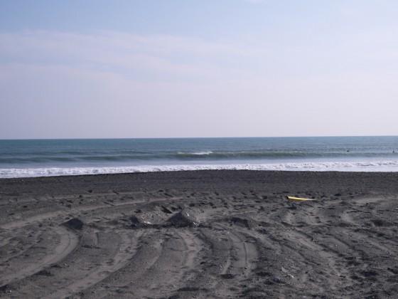 2012/12/18 12:20 静波海岸