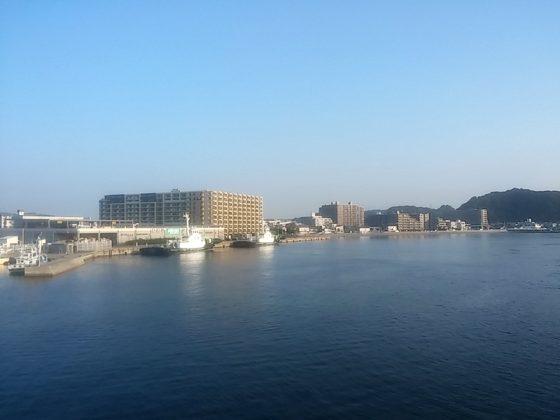 東京湾フェリーからの眺め