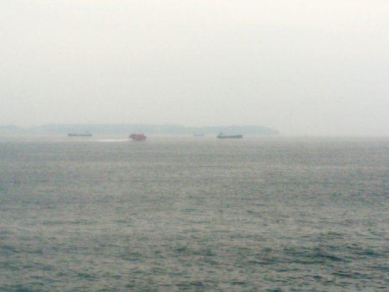 東京湾フェリーで金谷から久里浜へ