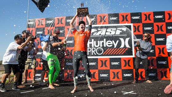 Taj Burrow Win Hurley Pro 2013