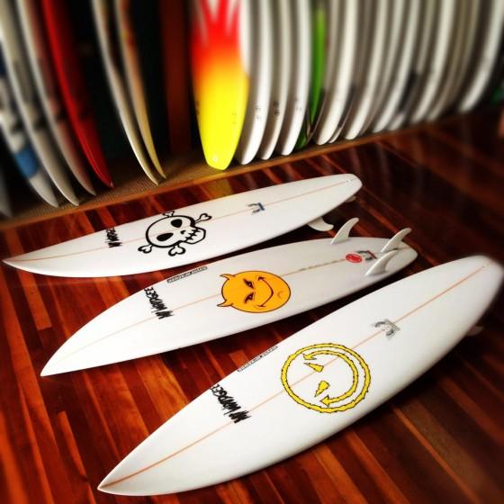 Mt Woodgee Surfboards ビード・ダービッジモデル