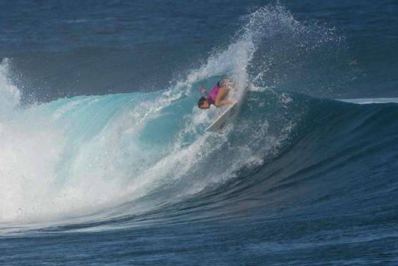 サリー Fiji Women's Pro 2015