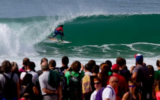 Gabriel Medina perfect 10 Rip Curl Pro Portugal 2012