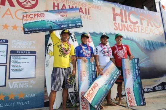 Sunny Garcia Win HIC Pro 2012