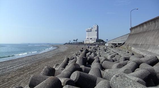 2010/09/04 9:34 興津川河口