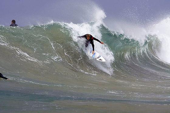 Mt Woodgee Surfboards ライダー ビード・ダービッジ