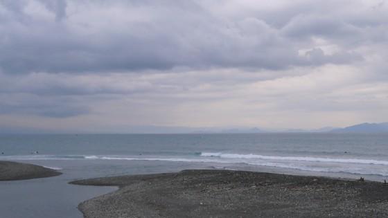 2012/11/24 7:54 興津川河口