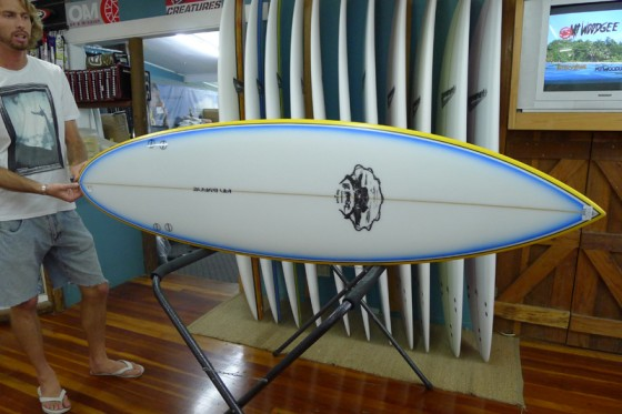 Mt Woodgee Surfboards Retro Single