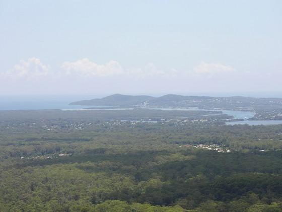 Noosa Heads 方向 Mt Tinbeerwah Tewantin, QLD Australia