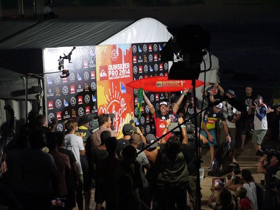 2014 QSpro WIN GABRIEL MEDINA 2nd JOEL PARKINSON
