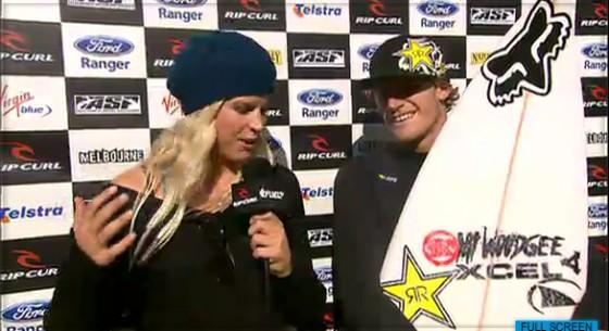 2011 Rip Curl Pro Bells Beach Round2 Win ビード・ダービッジ