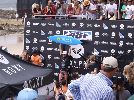 Roxy Pro 2013 Tyler Wright Win