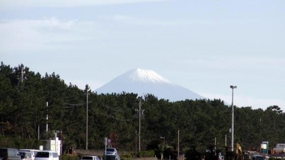 2011/11/12 静波海岸から富士山の眺め