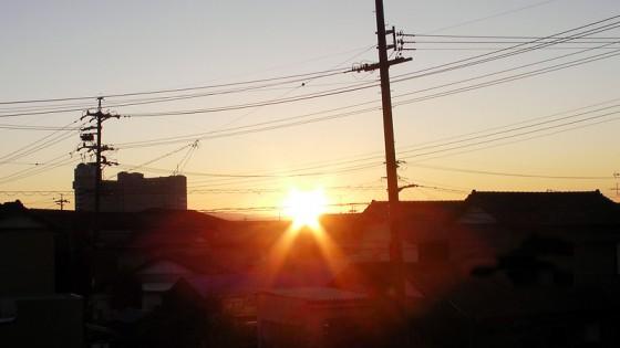 2011/01/01 初日の出