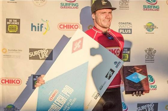 Tim McDonald (ティム・マクドナルド) 優勝  CHIKO Burleigh Heads Pro 2014