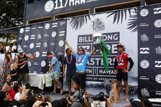 2015 Billabong Pipe Masters 優勝 エイドリアーノ・デ・ソーザ
