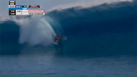 BILLABONG PRO TAHITI ROUND3 Heat5 Bede Durbidge(ビード・ダービッジ)