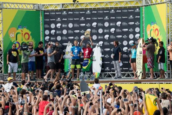 フェリペ優勝 2015 Oi Rio Pro