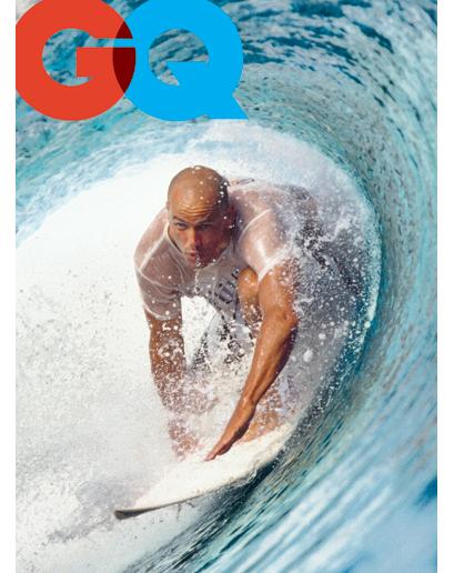 GQ Magazine cover ケリー・スレーター