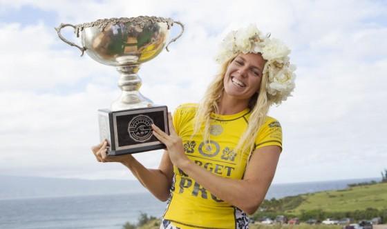 ステファニー・ギルモア 2014 WCT Women's Champion