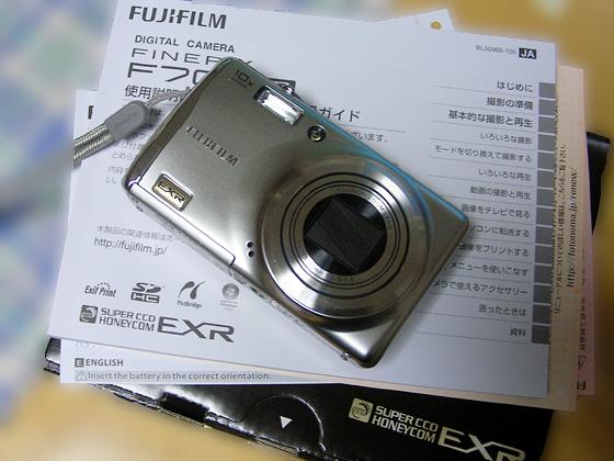 Finepix F70EXR