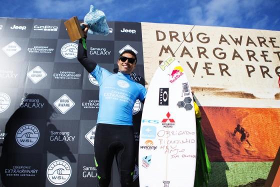 エードリアーノ・デ・ソウザ Drug Aware Margaret River Pro 2015