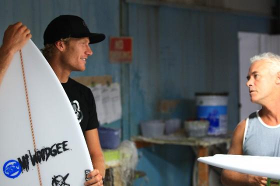 good relationship Mt Woodgee Surfboards