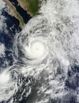 ハリケーン「オディール」