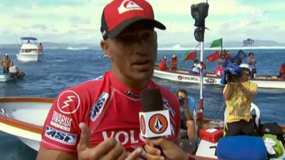 Volcom Fiji Pro 2013 ケリーWIN