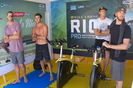 Bede & Pako Billabong Pro Rio 2013 Day1 LAYDAY