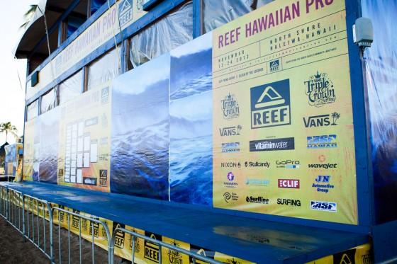 Reef Hawaiian Pro Day1