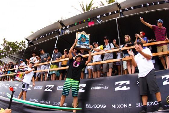 Sebastian Zietz  VANS HAWAIIAN TRIPLE CROWN 2012CHAMPION